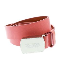 Dsquared2 Pink Leather Belt Size 100 CM 175760