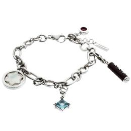 Montblanc Star Signet Silver Charms Bracelet 20 cm 186778