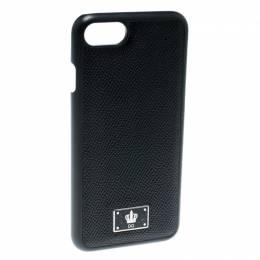 Dolce&Gabbana Black Logo Plaque iPhone 7 Case