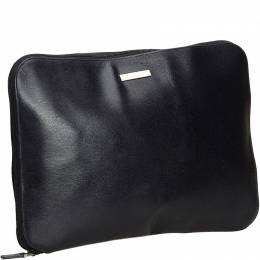 Gucci Black Leather Clutch Bag 185822