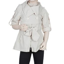 Scervino Street Girls Beige Trench Coat 6 Yrs Ermanno Scervino
