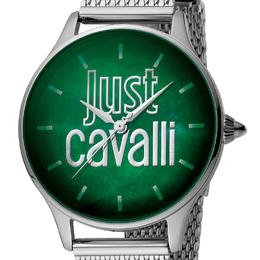 Just Cavalli Green Stainless Steel JC1L032M0095 Women's Wristwatch 34MM 180085