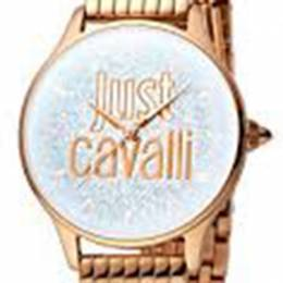 Just Cavalli Silver Rose Gold Plated Stainless Steel JC1L043M0045 Women's Wristwatch 34MM 180097