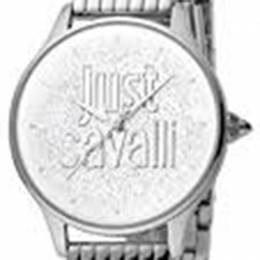 Just Cavalli Silver Stainless Steel JC1L043M0015 Women's Wristwatch 34MM 180093