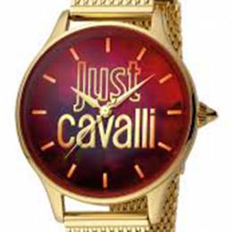 Just Cavalli Red Gold Plated Stainless Steel JC1L032M0105 Women's Wristwatch 34MM 180091
