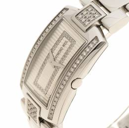 Raymond Weil Silver Shine Stainless Steel Women's Wristwatch 23MM 110421