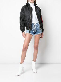 Unravel Project джинсовая юбка с прорванными деталями UWYC002E190200147100