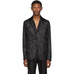 Sacai Black Nylon Blazer 192445M19500103GB