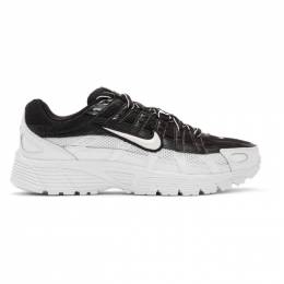 Nike Black and White P-6000 Sneakers BV1021-003