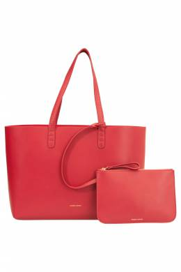 Mansur Gavriel Flamma/Flamma Leather Large Tote 201667