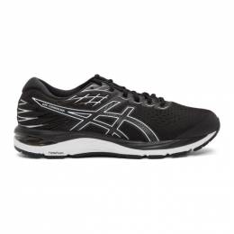 Asics Black and White Gel-Cumulus 21 Sneakers 1011A551