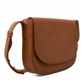 Mansur Gavriel Tan Leather Mini Crossbody Bag 201698