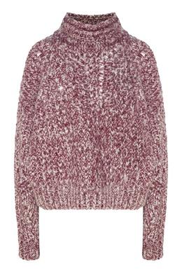 Короткий меланжевый свитер Isabel Marant 140137164
