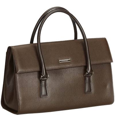 Burberry Dark Brown Leather Everyday Bag 159444 - 2