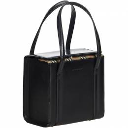 Burberry Black Leather Everyday Bag 187003