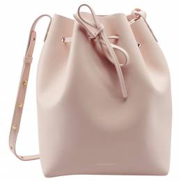 Mansur Gavriel Pick Leather Bucket Bag 203963