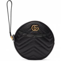 Gucci Black GG Marmont 2.0 Clutch 575164 DTDCT