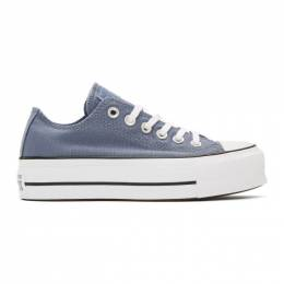 Converse Blue Chuck Taylor All Star Lift Sneakers 564997C