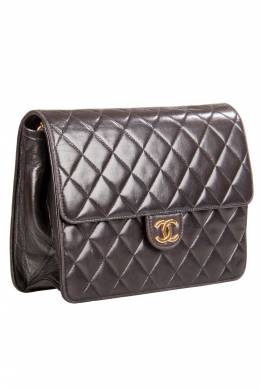 Chanel Black Quilted Leather Small Vintage Classic Single Flap Bag 203675