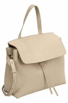 Mansur Gavriel Beige Leather Lady Tote 203425