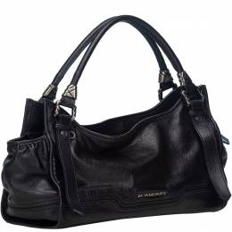Burberry Black Leather Everyday Bag 186443