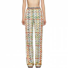 Missoni Multicolor Large Knit Lounge Pants MDI00123 BR003T