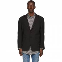 Dsquared2 Grey Wool 80s Fit Blazer S71BN0780