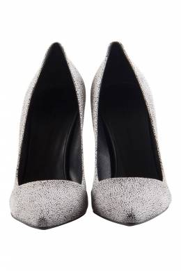 Proenza Schouler Two Tone Textured Suede Dragonfly Pumps Size 38 204584