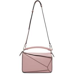 Loewe Pink Small Puzzle Bag 192677F04801401GB