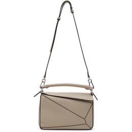 Loewe Beige Small Puzzle Bag 192677F04800901GB