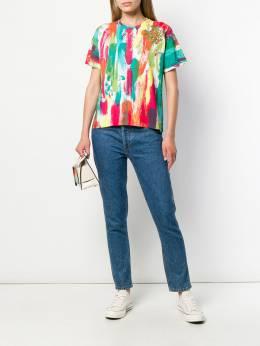 Mr & Mrs Italy футболка с абстрактным принтом XTS0128