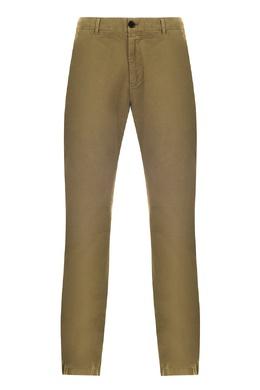 Зеленые брюки-чинос Strellson 585139361