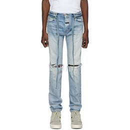 Fear Of God Indigo Slim Jeans C000-5003HWD