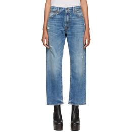 R13 Blue Boyfriend Jeans 192021F06900303GB