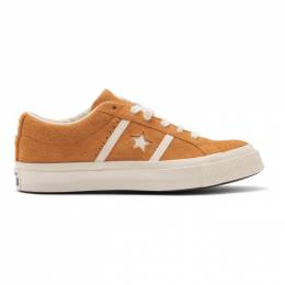 Converse Orange Suede One Star Ox Academy Time Capsule Sneakers 165023C