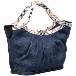 Burberry Blue Denim Everyday Bag 198705
