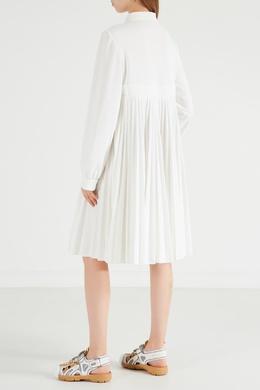 Платье на молнии с вышивкой Gucci Tennis 470139295