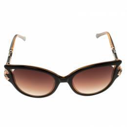 Roberto Cavalli Brown RC981/S Cat Eye Sunglasses 118179