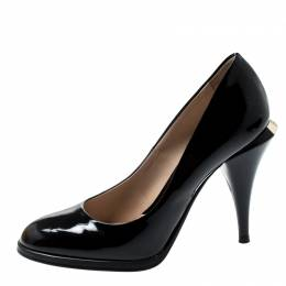 Fendi Black Patent Leather Pumps Size 35