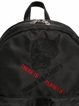 Рюкзак Из Нейлона John Richmond 70IFHZ018-QkxBQ0s1