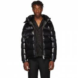 Moncler Black Down Maya Jacket 192111M17800101GB