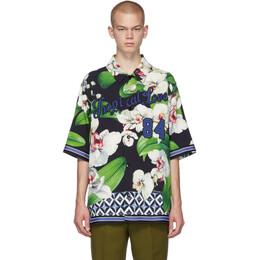 Dolce & Gabbana Black Orchid Shirt 192003M19201801GB