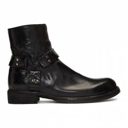 Officine Creative Black Ikon 055 Boots IKON 055 NOVAK