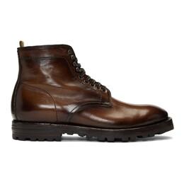 Officine Creative Brown Aspen 005 Boots ASPEN 005
