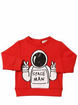 Свитшот Из Хлопка С Принтом Stella McCartney Kids 70IFFM011-NjU2NA2