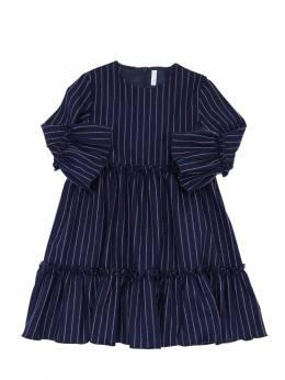 Платье Из Смешанной Вискозы Il Gufo 70I8Z9091-NDkzMg2