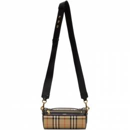 Burberry Beige Vintage Check Barrel Bag 192376F04501301GB