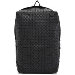 Bao Bao Issey Miyake Black Large Liner Backpack BB07AG111