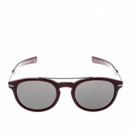 Roberto Cavalli Burgundy/Black RC1021 Wayfarer Sunglasses 208625