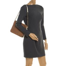 Carolina Herrera Multicolor Leather New Baltazar Flap Shoulder Bag 201011